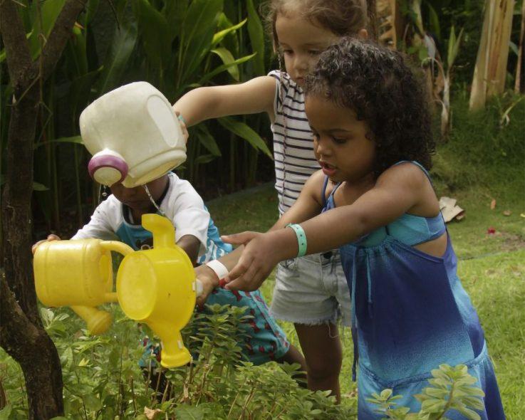 Diversão e contato com a natureza para os pequenos? Temos!
