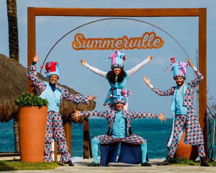 O circo chegou no Summerville