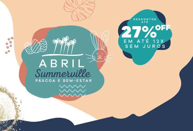 ABRIL COM ATÉ 27% OFF